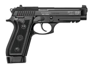 "Pistola Taurus PT59S - .380ACP - 5,1"" - 19+1 Tiros - Inox Fosco / Carbono Fosco"