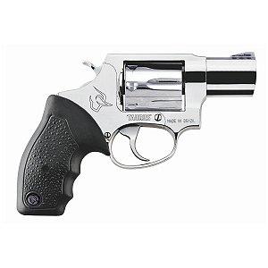 Revolver Taurus RT817  Cal.38SPL - Cabo De Borracha - 7 Tiros - Inox Alto Brilho