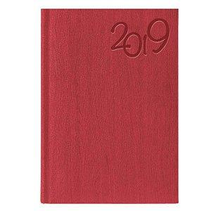 Agenda Diária Pombo 14,5 X 20,5 cm Gardena Vermelha