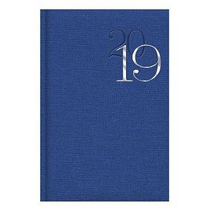 Agenda Diária Pombo 11,0 X 16,5 cm Índigo Blue