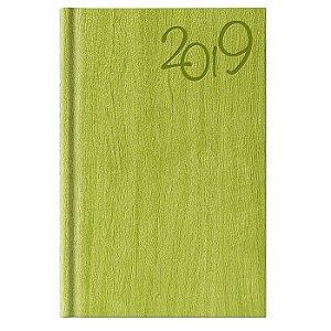 Agenda Diária Pombo 11,0 X 16,5 cm Gardena Verde Maçã