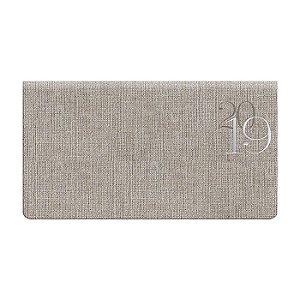 Agenda de Bolso Semanal Pombo 15,0 X 8,0 cm Jeans Gray