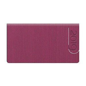 Agenda de Bolso Semanal Pombo 15,0 X 8,0 cm Índia Pink