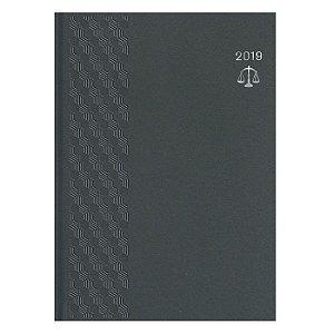 Agenda Juridica Pombo Diária 17,2 X 24,0 cm Matra Cinza