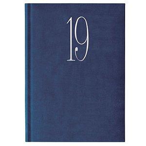 Agenda Diária Pombo 14,5 X 20,5 cm Wall Azul