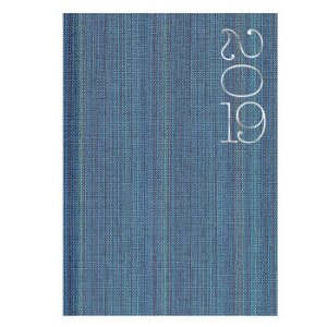 Agenda Diária Pombo 14,5 X 20,5 cm Web Azul