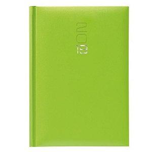Agenda Diária Pombo 14,5 X 20,5 cm Paros Verde Ácidos