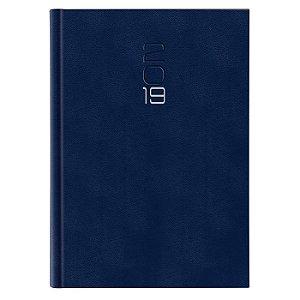 Agenda Diária Pombo 14,5 X 20,5 cm Paros Azul Escuro
