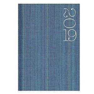 Agenda de Mesa Semanal Pombo 17,2 X 24,0 cm Web Azul