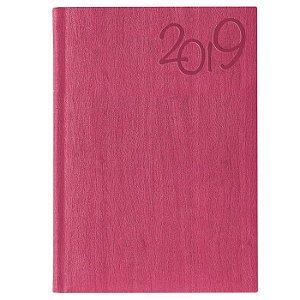 Agenda Diária Pombo 14,5 X 20,5 cm Gardena Pink