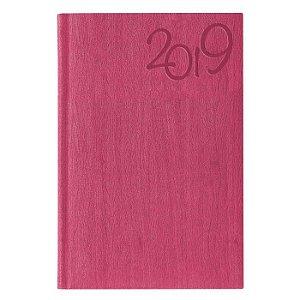 Agenda Diária Pombo 11,0 X 16,5 cm Gardena Pink