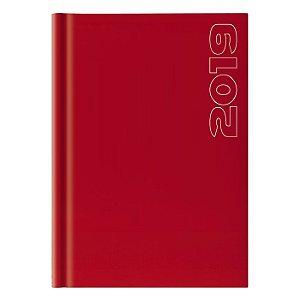 Agenda Diária Pombo 14,5 X 20,5 cm Matra Vermelha