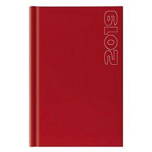 Agenda Diária Pombo 11,0 X 16,5 cm Matra Vermelha
