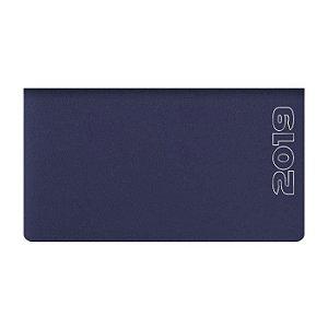 Agenda de Bolso Semanal Pombo 15,0 X 8 ,0 cm Matra Azul Escuro