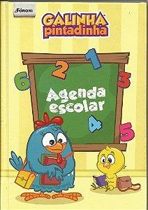 Agenda Escolar Permanente Galinha Pintadinha 105x148