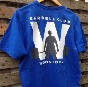 Camiseta Wodstock Barbell Club
