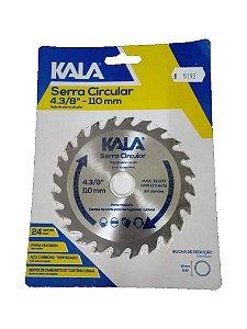 DISCO SERRA CIRCULAR 4.3/8  110MM  KALA