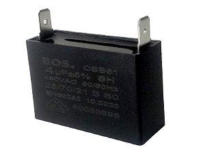 Capacitor Motor Ventilador 4Uf 450Vac Eos
