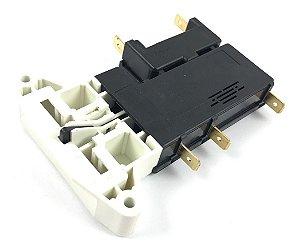 Trava Tampa Compatível Lavadora Electrolux Top8 Le08 Le08A Ltr08 Lm08A 220V