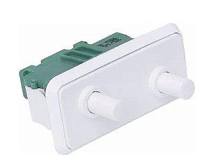 Interruptor Duplo Refrigerador Electrolux Duplex Dff44