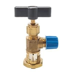 Valvula Perfuradora 3/16 1/4 5/16 3/8 Recolhimento Gas Ecotools