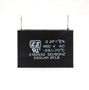 Capacitor Motor Ventilador Ar condicionado 2 Uf