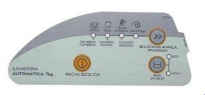 Painel Decorativo Compatível Lavadora Consul 7Kg Cwc24A