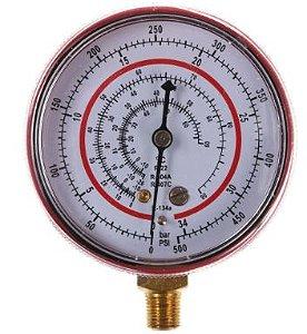 Manômetro Alta Pressão Gás R22 R134 R404 R407 Dugold