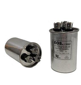 Capacitor 25+2,5 Uf 380V Copo Aluminio