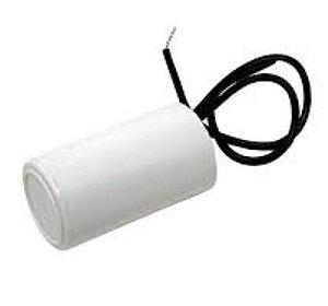 Capacitor 6 Mfd 250V Plastico Com Fio