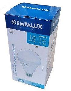 Lâmpada Led Com Função Emergência - A80 - 10W - 6500K - Empalux