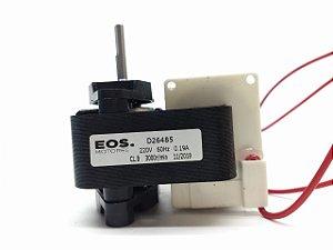 Motor Ventilador Metalfrio 1/100 Com Hélice Alumínio Sem Suporte