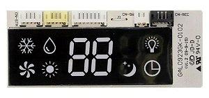 Placa Interface E Display Evaporadora Bbj9 Bbj12 Bbu09 Bbu12 Bbv09 Bbv12