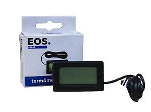 Termometro Digital Com Sensor Eos -50+70