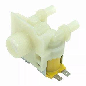 Válvula Entrada Dupla Compatível Lavadora Brastemp/Consul Cwl08 Bwl11 110V
