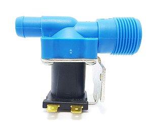 Válvula Entrada Simples Compatível Lavadora Brastemp Mondial 220V