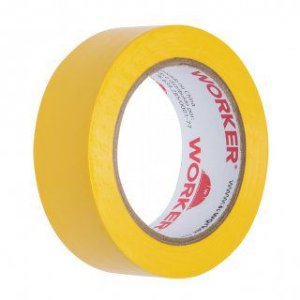 Fita Isolante 19Mm X 10 Mts Amarela Worker