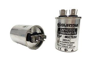 Capacitor 8 Uf 380V Copo Aluminio Suryha