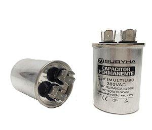 Capacitor 2 Uf 380V Copo Aluminio Suryha
