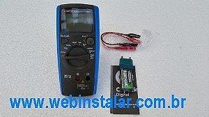 Capacímetro Digital Kt6013 Eos Mede Até 20.000uf
