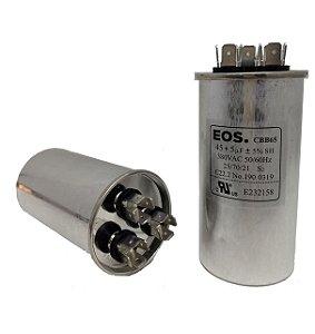 Capacitor 45+5 Uf 380V Copo Aluminio