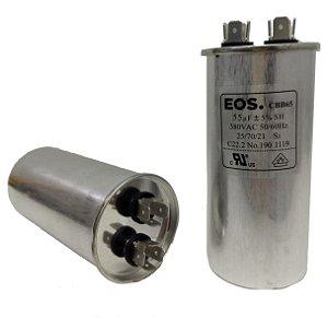 Capacitor 55 Uf 380V Copo Aluminio
