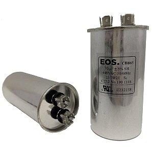 Capacitor 70 Uf 440V Copo Aluminio