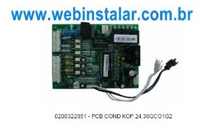 Placa Condensadora Komeco Kop 24.36qcg1g2