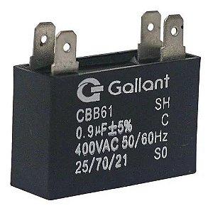 Capacitor 0.9 Uf 110/220V Motor Ventilador