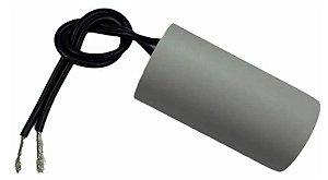 Capacitor 7 Uf 250V Copo Plastico Com Fio