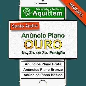 Anúncio Plano Ouro - Guia Aquittem Santo André - ANUAL