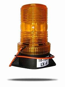 Sinaleiro âmbar Giroflex Strobo em LED 12-60v