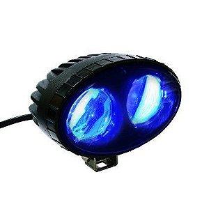 Blue Spot - Luz de Segurança para Pedestres