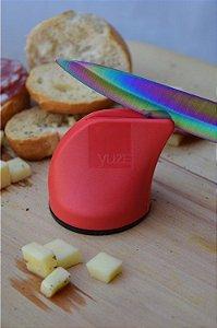 Afiador de facas - vermelho Yuze